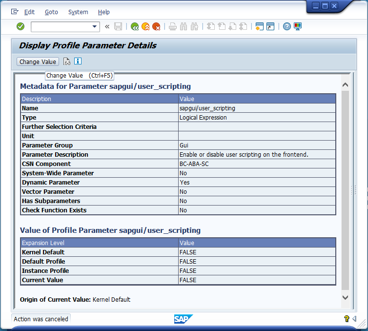 How to Enable SAP GUI Scripting – Knowledge Base