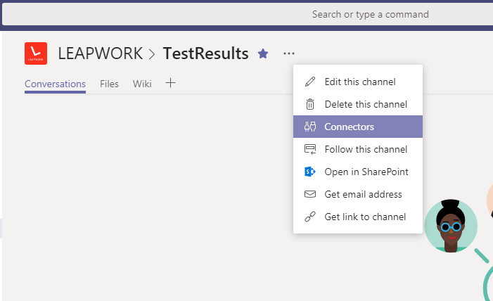 Sending test result notifications to Microsoft Teams via Scheduler